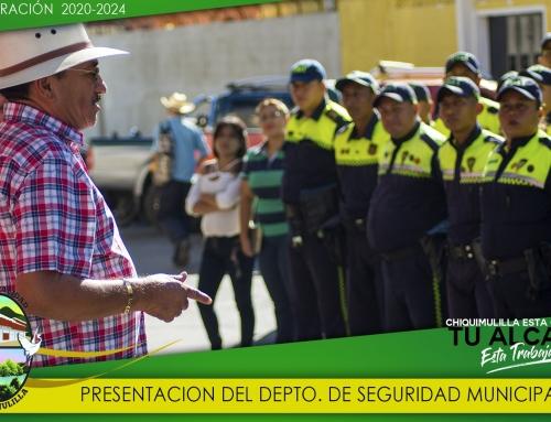 PRESENTACION NUEVO JEFE DE LA POLICIA MUNICIPAL