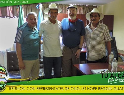 REUNION CON REPRESENTANTES DE LA ONG «Let Hope Beggin Guatemala»