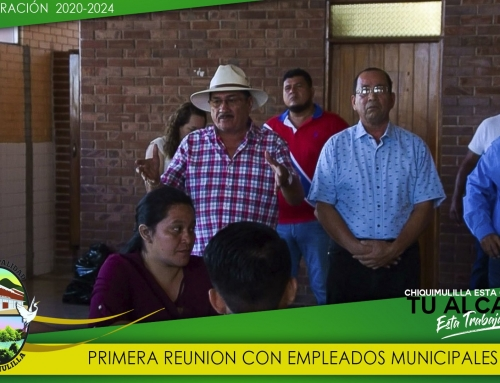 REUNION CON PERSONAL ADMINISTRATIVO PARA REITERAR COMPROMISO